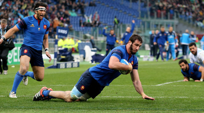 Six Nations: Italy 0-29 France