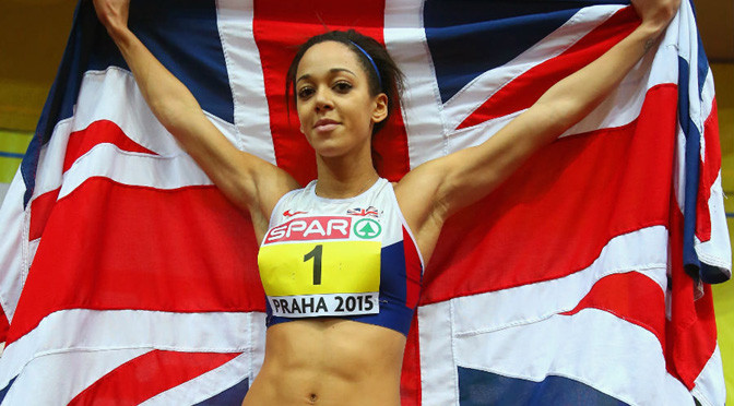 Athletics: Johnson-Thompson smashes Ennis record on way to gold
