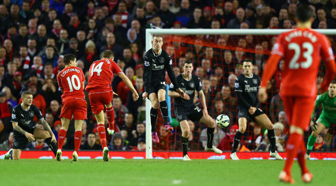 Premiership: Liverpool 2-0 Burnley