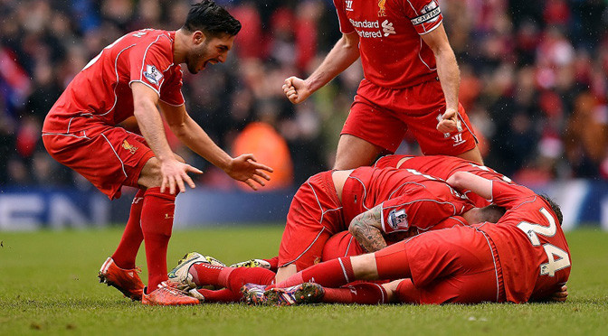 Premiership: Liverpool 2-1 Man City