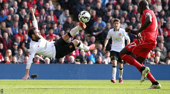 Premiership: Liverpool 1-2 Man Utd