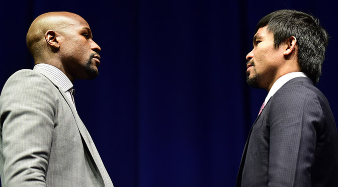 Boxing: Mayweather says World will stop when I fight Pacquiao