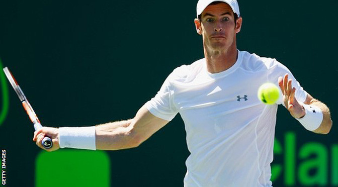 Miami Open: Andy Murray beats Santiago Giraldo