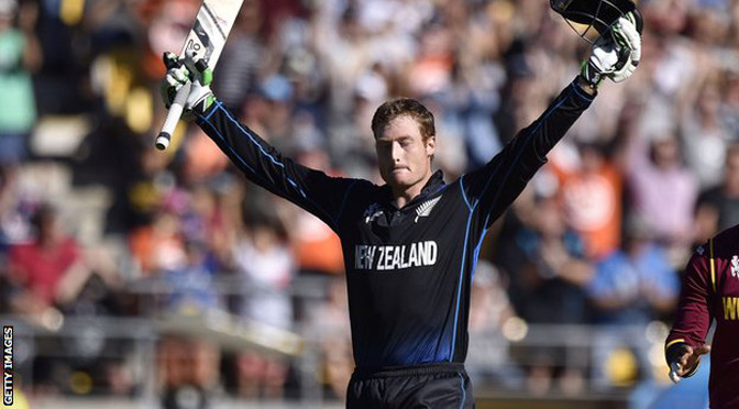 Cricket World Cup: Martin Guptill hits highest score in New Zealand victory against West Indies