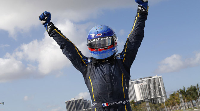 Formula E: Nico Prost powers to first win in Miami