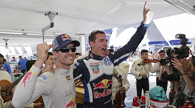 WRC: Sebastien Ogier in a league of his own to score victory in Mexico.