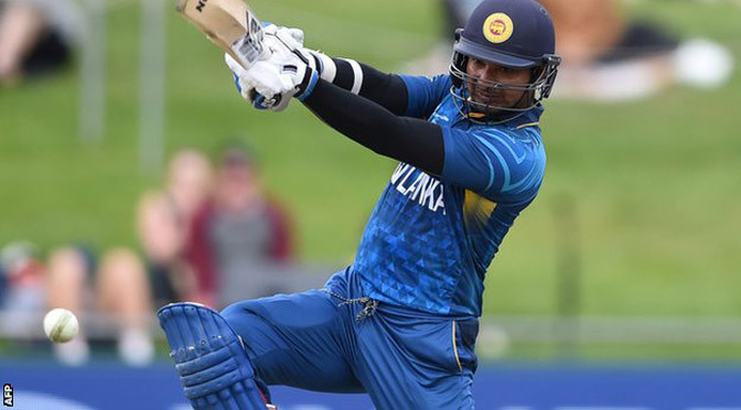 Cricket World Cup: Sangakkara scores fourth successive century for Sri Lanka