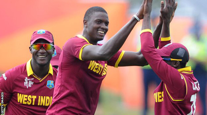 Cricket World Cup: West Indies win to reach quarter-finals