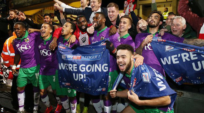 League 1: Bristol City promoted to Championship