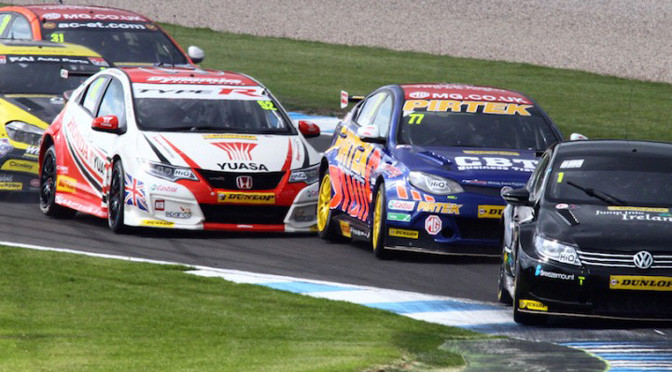 BTCC: Champion trio delivers at Donington Park