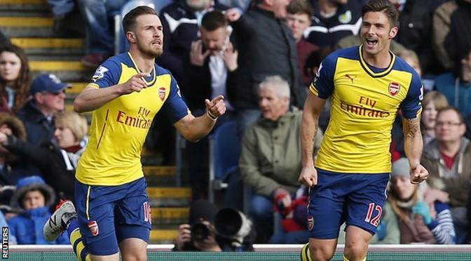 Premiership: Burnley 0-1 Arsenal