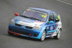 Daniel Gibson testing at Brands Hatch (Photo: Joshua Barrett Photography)