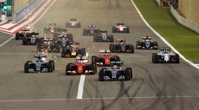 F1: Lewis Hamilton cruises to Bahrain GP win, Raikkonen second