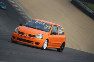 Martin Bentley testing at Brands Hatch (Photo: Joshua Barrett Photography)