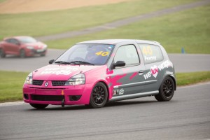 Mat Pewsey testing at Brands Hatch (Photo: Renaultsport UK)