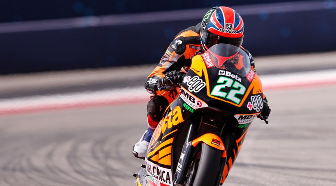 Moto2: Sam Lowes claims heroic maiden win