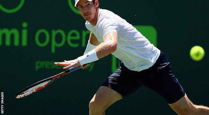 Miami Open: Andy Murray beats Tomas Berdych in semi-finals