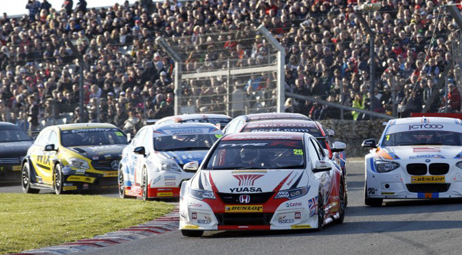BTCC: Matt Neal makes it a Honda double at Brands Hatch