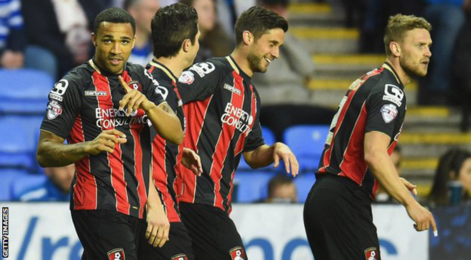 Championship: Reading 0-1 Bournemouth