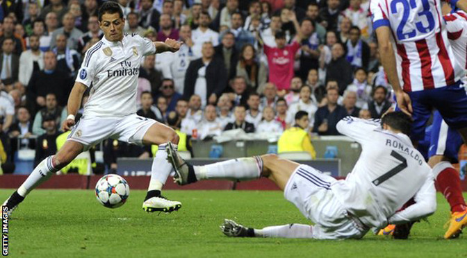 Champions League: Real Madrid 1-0 Atletico Madrid (agg 1-0)