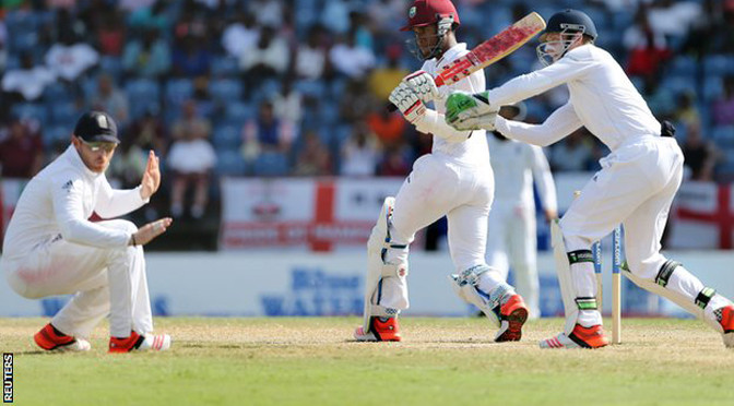 Cricket: West Indies v England: Kraigg Brathwaite makes ton for hosts